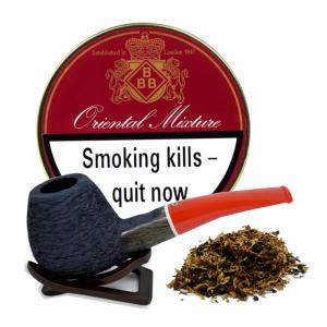 BBB Oriental Mixture Pipe Tobacco 50g Tin