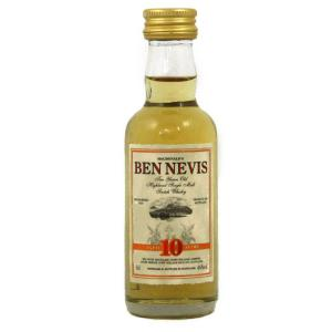 Ben Nevis 10 Year Old Single Malt Scotch Whisky Miniature - 5cl 46%