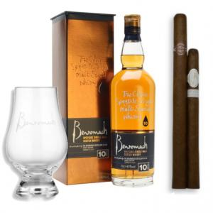 Long and Satisfying Pairing - Benromach Whisky and Cigar Selection Sampler
