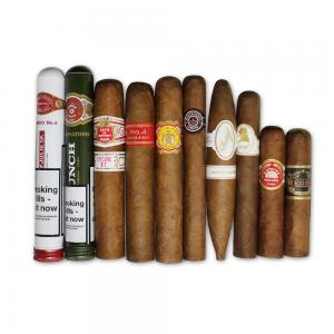 Best Sellers of 2017 Summer Sampler - 10 Cigars