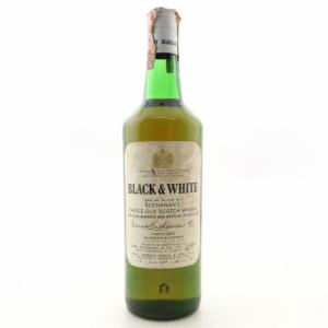 Black and White 1960s Buchanans Choice Old Scotch Whisky - 75cl 40%
