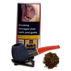 Danish Black V Mixture Planta Pipe Tobacco 40g (Pouch)