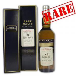 Bladnoch 23 Year Old 1977 Rare Malt Whisky - 70cl 53.6%
