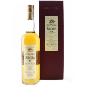 Brora 37 Year Old - 2015 Special Release - 50.4% 70cl - LIMITED EDITION 91/2976