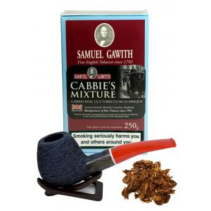 Samuel Gawith Cabbies Roll Cut Mixture Pipe Tobacco 250g Box