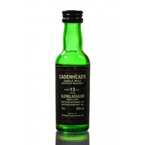 Cadenheads 13 Year Old Glenglassaugh Miniature - 5cl 59.8%