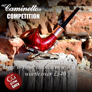 Competition Entry - Caminetto 1968 Red Grain Fishtail Pipe Prize