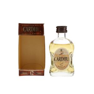 Cardhu 12 year old 1980s Miniature - 5cl 40%