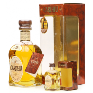 Cardhu 12 Year Old Old Style Scotch Whisky & Miniature - 80cl 40%