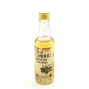 Cardhu 12 year old Miniature - 40% 5cl