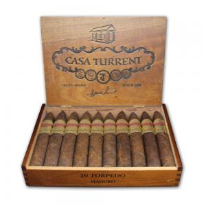 Casa Turrent Torpedo Maduro Cigar - Box of 20