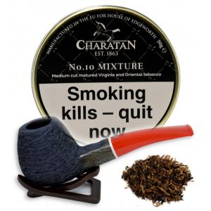 Charatan No.10 Mixture Pipe Tobacco 50g Tin (Dunhill London Mixture)