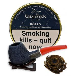 Charatan Rolls Pipe Tobacco 50g Tin (Dunhill Deluxe Navy Rolls)