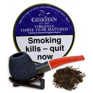 Charatan Virginia Three Year Matured Pipe Tobacco 50g (Tin)