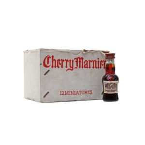 Cherry Marnier Bottled 1970s Miniatures - 12x3cl Box