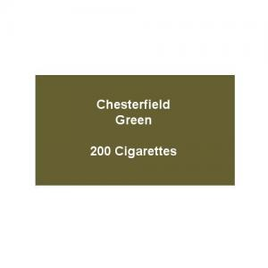Chesterfield Green Super Kings Cigarettes - 10 packs of 20 cigarettes (200)