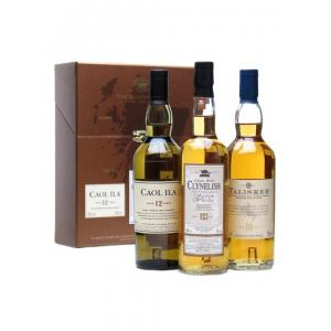 Classic Malts of Scotland 3x20cl - Coastal Selection