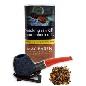 Mac Baren Classic Amber (Formerly Vanilla Toffee Cream) Pipe Tobacco 40g Pouch