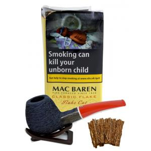 Mac Baren Classic Flake (Formerly Vanilla Cream Flake) Pipe Tobacco 050g Pouch