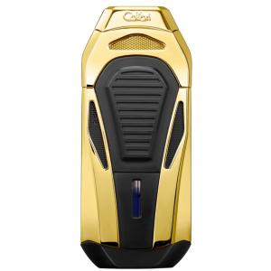 Colibri Boss Triple Flame Lighter - Polished Gold
