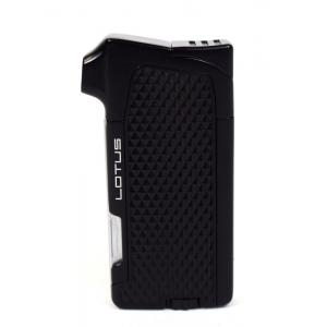 Lotus Condor Pipe Lighter With Tools - Black Matte