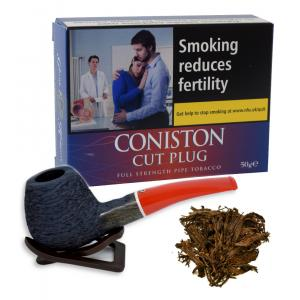 Kendal Coniston Cut Plug Pipe Tobacco 50g (Tin)