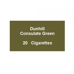 Dunhill Consulate Green King Size - 1 packs of 20 cigarettes (20)