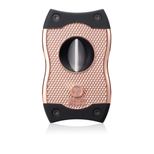 Colibri SV Cut Cigar Cutter - Rose Gold & Black