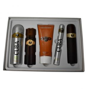Cuba Must Have Mens Cigar Style Aftershave Gold Eau De Toilette Gift Set