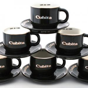 Cubita Coffee Cups - Americano Size - Set of 6 cups