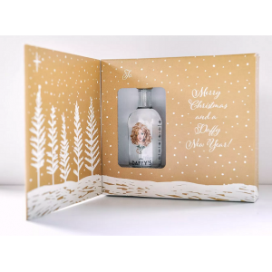 Daffy's Gin Christmas Card - 5cl 43.4%