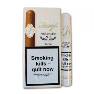 Davidoff Aniversario No. 3 Tubos Cigar - Pack of 3