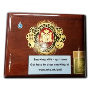 Empty - Arturo Fuente Don Carlos Belicoso Cigars Box