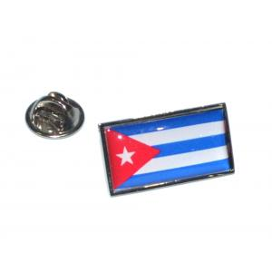 Cuba Flag Lapel Pin Badge
