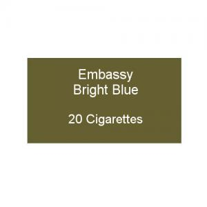 Embassy Bright Blue - 1 pack of 20 cigarettes (20)