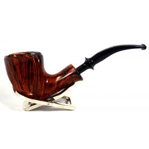Erik Nording Freehand Orange Grain Fishtail Pipe (EN101)