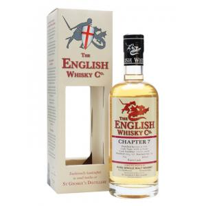 English Whisky Company Chapter 7 Rum Finish Whisky - 70cl 46%