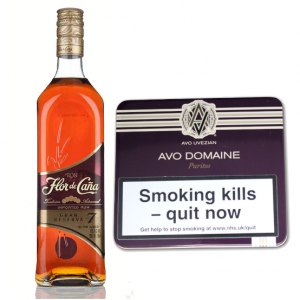 AVO Uvezian Domaine Puritos and Flor de Cana 7 Year Old Rum Pairing