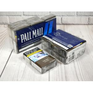 Pall Mall Flow Blue Kingsize (Previously Blue Capsule) - 10 Packs of 20 Cigarettes (200)