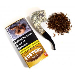 Fosters Gold Pipe Tobacco 25g Pouch - End of Line