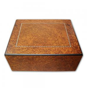 SLIGHT SECONDS - Gentili Gennaro with Inlay Cigar Humidor - 50 Cigar Capacity