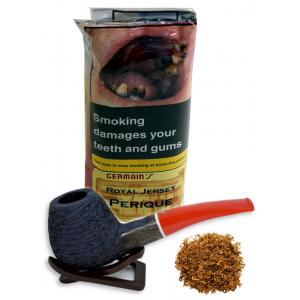 Germains Royal Jersey Perique Pipe Tobacco 50g Pouch
