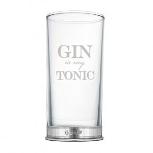 Gin is my Tonic 12oz Tall Gin Glass - BAR207