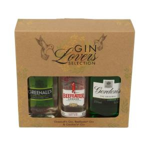 Gin Lovers Selection Triple Pack 3x5cl