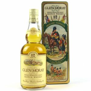 Glen Moray 12 Year Old Argyll and Sutherland - 40% 70cl