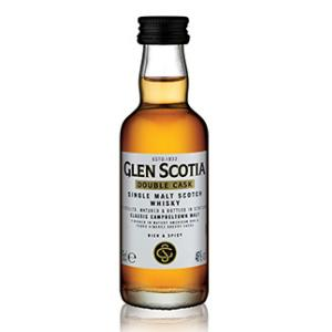 Glen Scotia Double Cask Single Malt Scotch Whisky Miniature - 5cl 46%