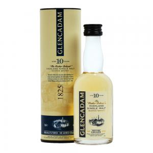 Glencadam 10 Year Old Single Malt Scotch Whisky Miniature - 5cl 46%