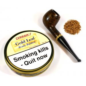 Germains Gold Leaf Ready Rubbed Pipe Tobacco 50g Tin