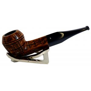 Hardcastle Briar Root 103 Checkerboard Fishtail Straight Pipe (H0025)