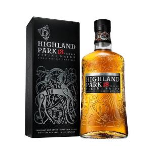 Highland Park 18 Year Old Viking Pride Single Malt Scotch Whisky - 70cl 43%